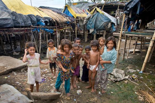 poor slums of india
