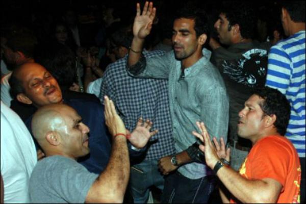 Sachin dancing