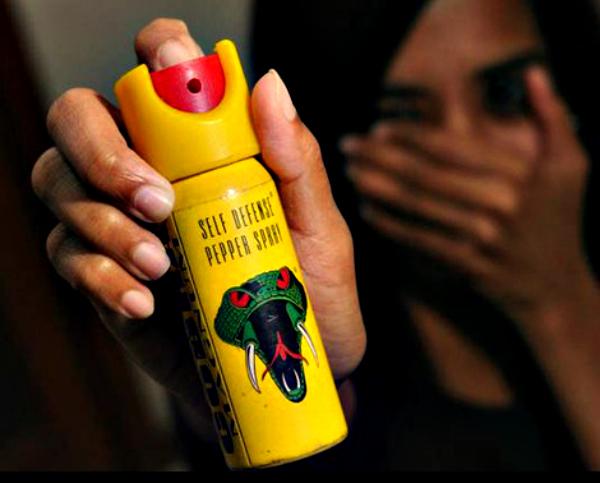 pepper spray india