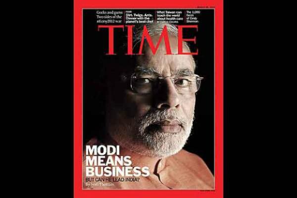 Modi time magazine cover