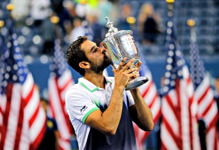 Marin Cilic wins the U.S Open