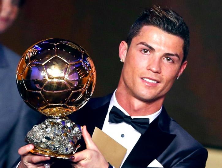 Teary eyed Ronaldo