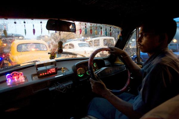 india cab driver