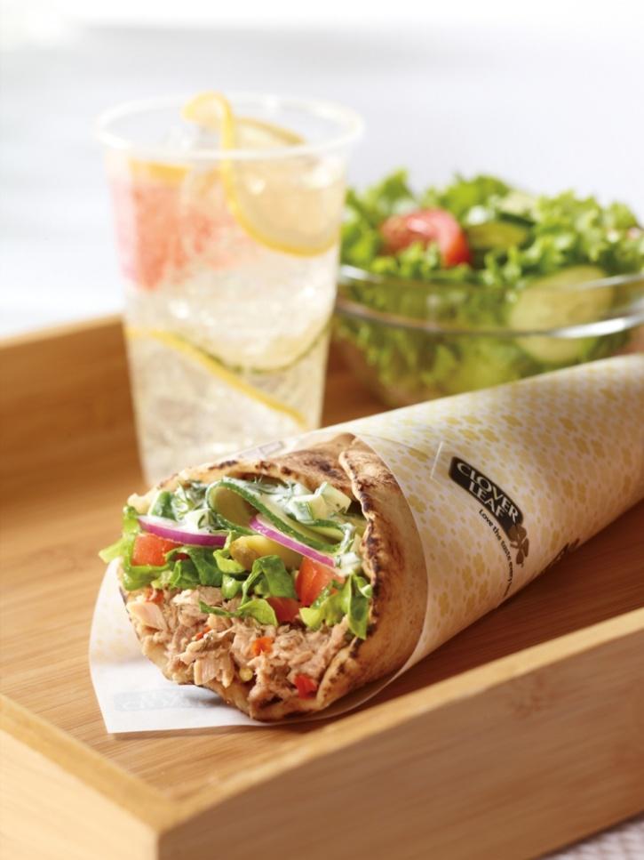 Tasty looking wrap