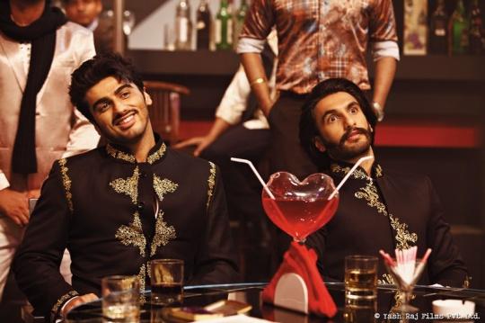 Ranveer Singh and Arjun Kapoor in Gunday