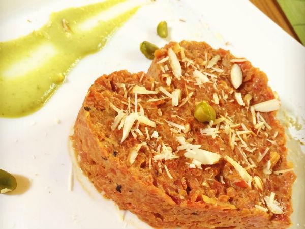 Healthy Dessert Recipe: Pistachio Gajrela