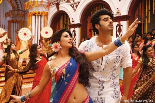 Priyanka Chopra and Arjun Kapoor in Gunday