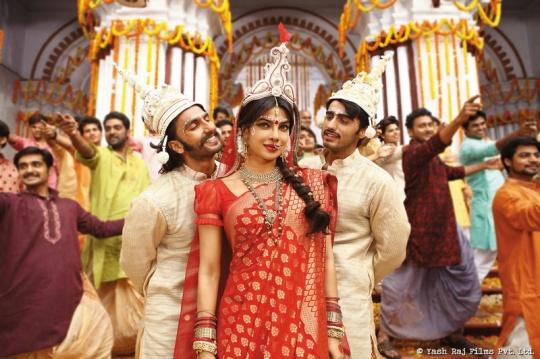 Ranveer Singh and Arjun Kapoor with Priyanka Chopra in Gunday