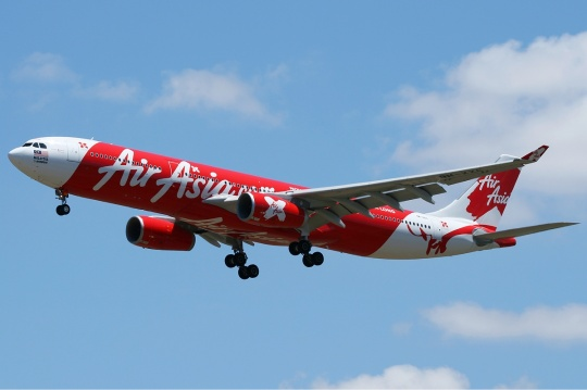 Malaysian low-cost airline AirAsia