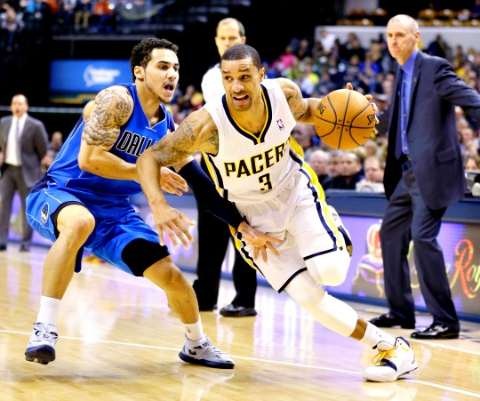 Ellis Leads Mavericks Over Pacers