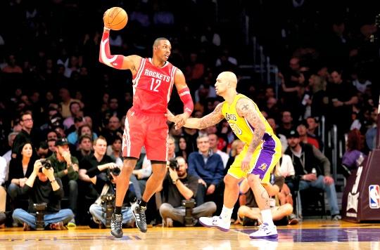 Howard's Rockets Thrash Lakers 134-108