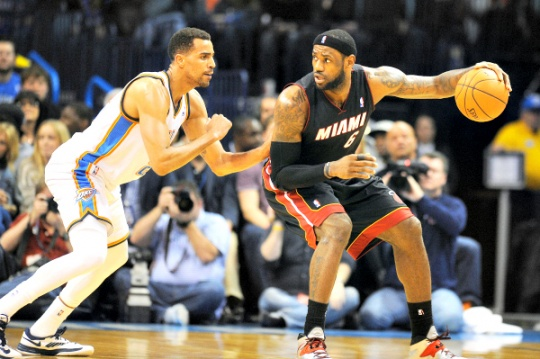 LeBron Bloodied But Unbeaten for Heat