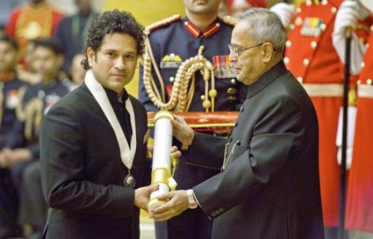 Sachin Tendulkar gets Bharat Ratna