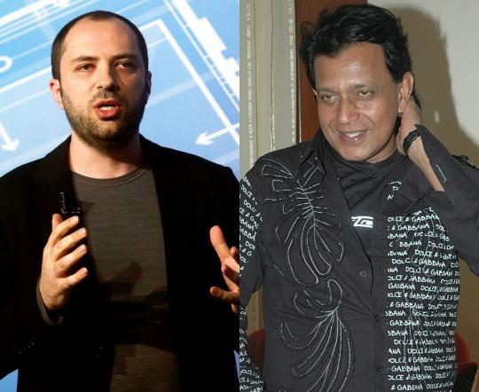 Jan Koum and Mithun Chakraborty