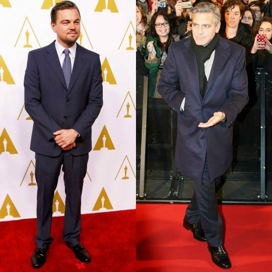 Leonardo DiCaprio, George Clooney