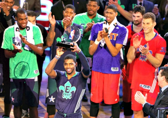 East Beat West in Historic All-Star Game