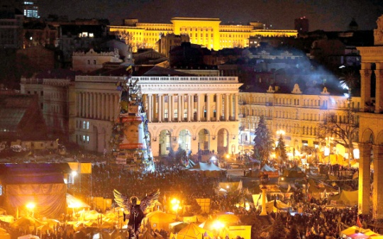 Shaky Peace Reigns After Ukraine Rocked by Protest