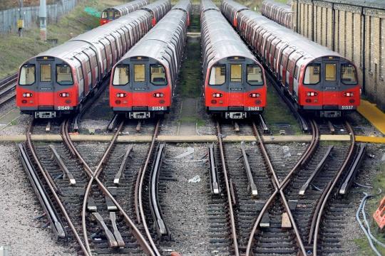 48-Hour Strike Begins On London Underground