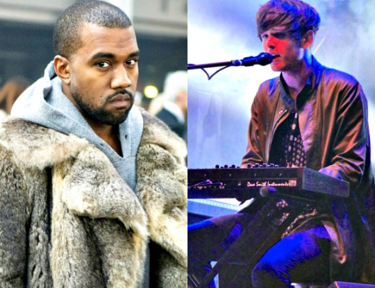 Kanye West, James Blake