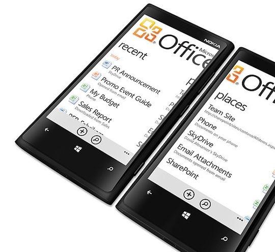 nokia lumia office