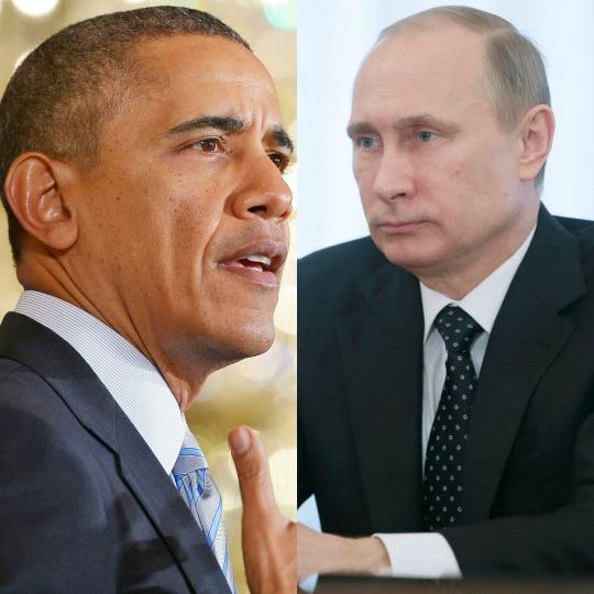 President Barack Obama, Vladimir Putin