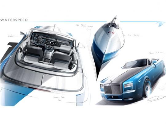 Rolls-Royce Phantom Drophead WaterSpeed