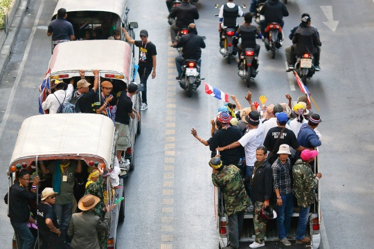 Defiant Protesters Disregard Thai Poll, Want PM Out