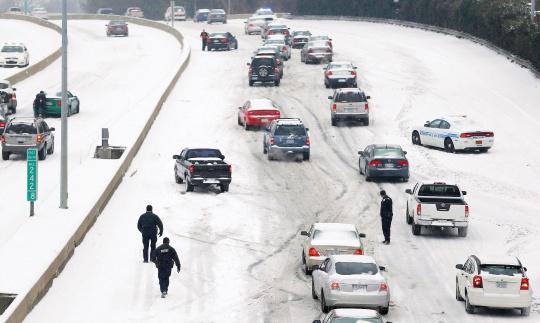 Ice Storm Causes Havoc On US South, East Coast