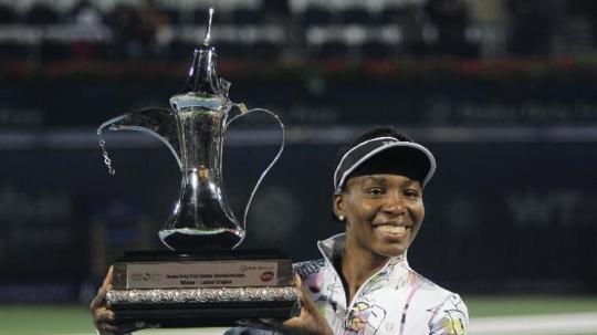 Venus Wins Dubai Title For Third Time