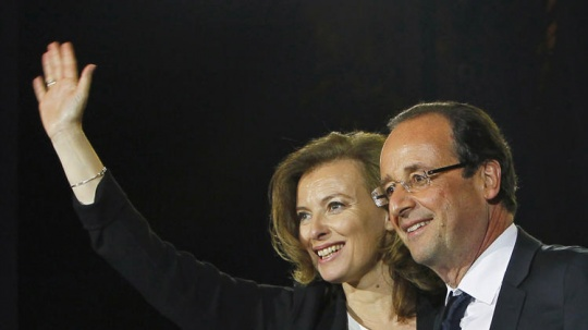 French President With First Lady
