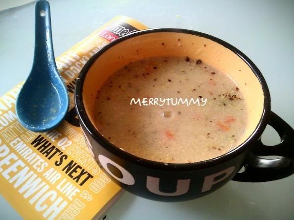 Vegetarian Recipe: Roasted Capsicum Soup
