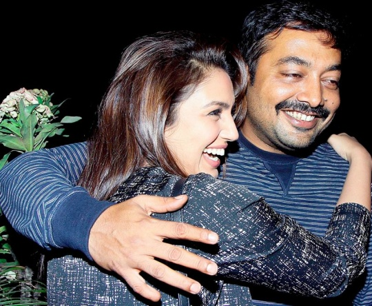 Anurag Kashyap and Huma Qureshi