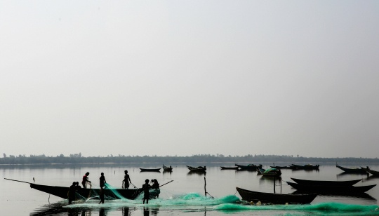 38 Tamil Nadu Fishermen Held by Lankan Navy