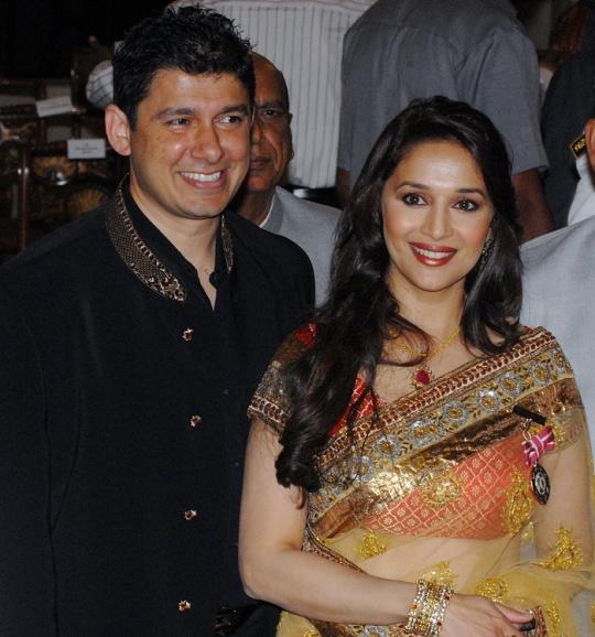 Mahduri Dixit-Nene and husband Sriram