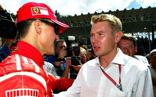 Michael Schumacher, Mika Hakkinen