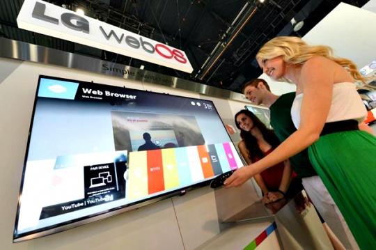 LG Unveils WebOS-Based Smart TVs