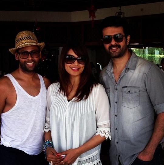 VJ Andy, Bipasha Basu and Harman Baweja