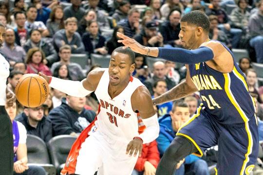 Raptors Snap Indiana's Six-Game Winning Streak