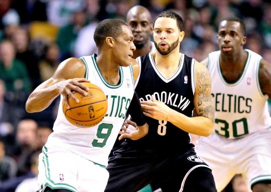 Nets Win On Boston Return for Star Duo