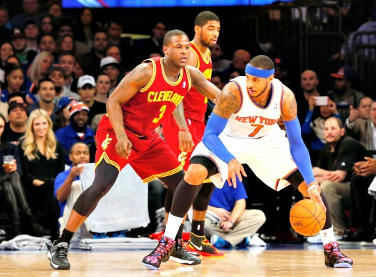 Anthony Helps Knicks Beat Cavaliers