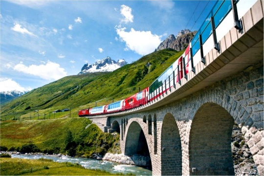 Luxurious Rail Journey