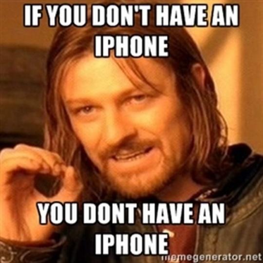 iPhone 4 Meme