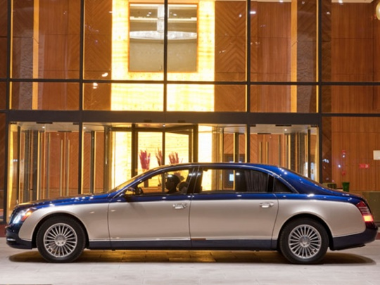 Mercedes is Bringing Sexy Back with the Maybach