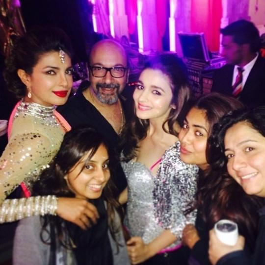 Priyanka Chopra, Mickey Contractor, Alia Bhatt