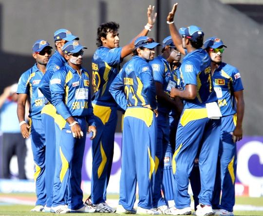 Sri Lanka Fight Back Against Pakistan