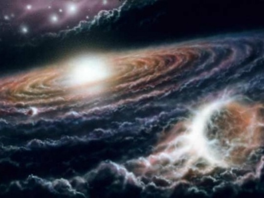 Discovered: A River of Hydrogen in Space