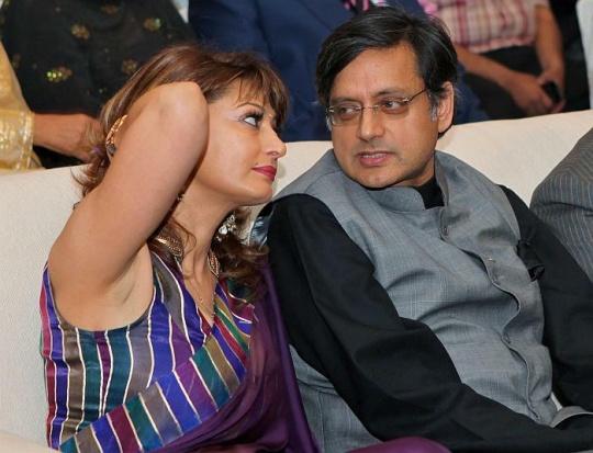 Sunanda Pushkar, Shashi Tharoor