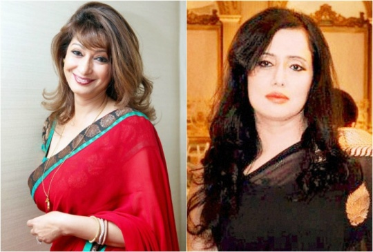 Sunanda Pushkar and Mehr Tarar