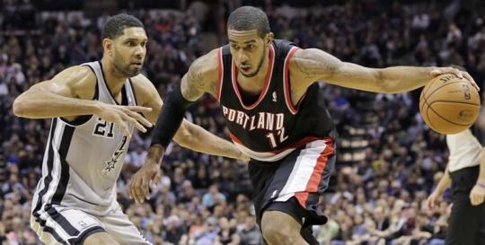 Trail Blazers outlast San Antonio Spurs