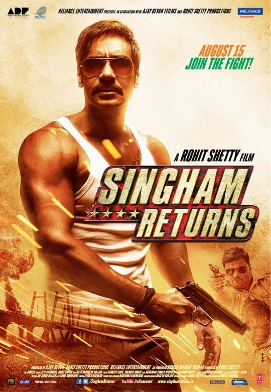 Ajay Devgn in Singham Returns
